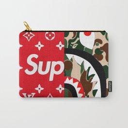 supreme bape LV Carry-All Pouch