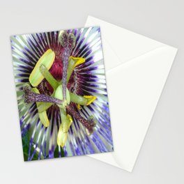 Passion Flower Close Up Stationery Cards