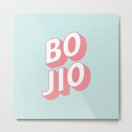 BO JIO Metal Print