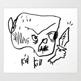KID KILL III Art Print