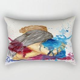 Hug - the power Rectangular Pillow
