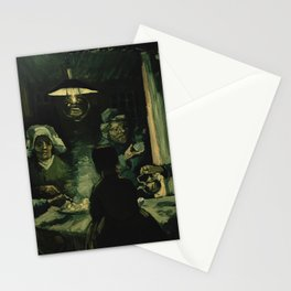 Vincent van Gogh - The Potato Eaters (1885) Stationery Cards
