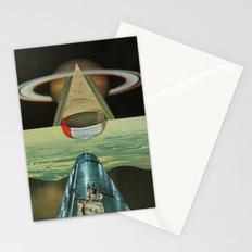 Saturn Rising Stationery Cards