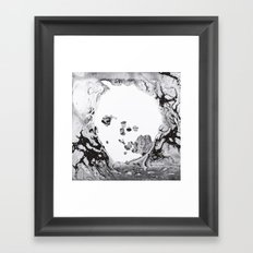 Radiohead - Moon Shaped Pool Framed Art Print
