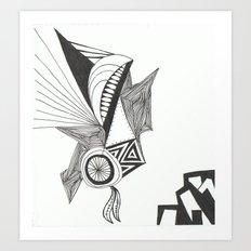 Whispering Wheel Art Print