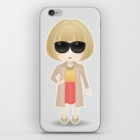vogue iPhone & iPod Skins featuring Vogue by Ricky Kwong