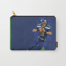 Russell Wilson QB 3 Seattle Seahawks Carry-All Pouch