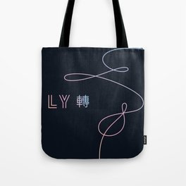 BTS - Love Yourself tear Tote Bag