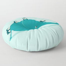 Waterslide Floor Pillow