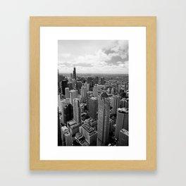 Dear, Chicago Framed Art Print