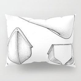Canoe Patent - Kayak Art - Black And White Pillow Sham