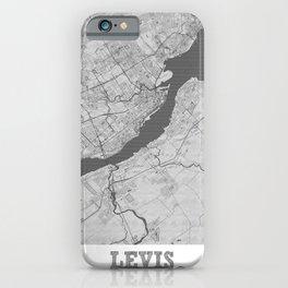 Levis Pencil City Map iPhone Case
