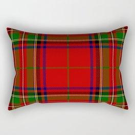 Red Tartan Plaid Rectangular Pillow