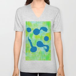 Tadpoles in Seagrass Unisex V-Neck