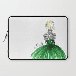 Emerald Dress Laptop Sleeve