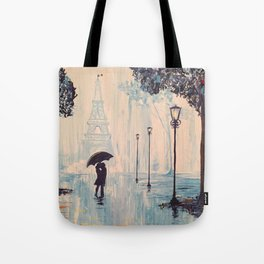 Last Night In Paris  Tote Bag