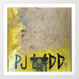 PJ Ladd, Flip, Stardust, 2002 Art Print