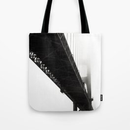 Black Bridge Tote Bag