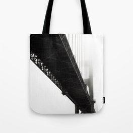 Black Bridge Tote Bag