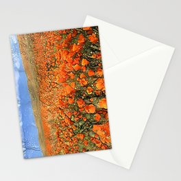 Golden Poppies in My Dreams Stationery Cards