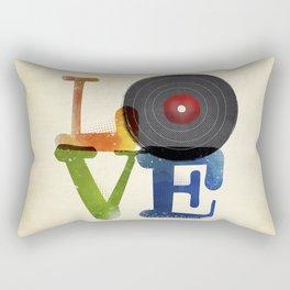 Love is Music Rectangular Pillow