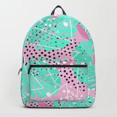 Funny Monstera Backpack