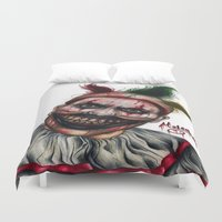 ahs Duvet Covers featuring Twisty-AHS No.2 by MELCHOMM