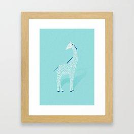 Animal Kingdom: Giraffe II Framed Art Print