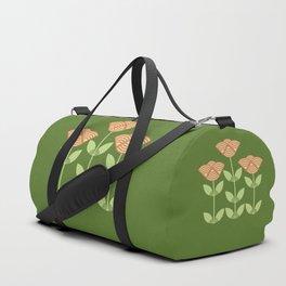 Three Japanese style flowers Duffle Bag