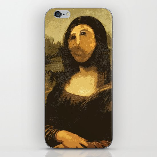 Ups! ( Mona Lisa - La Gioconda ) iPhone & iPod Skin