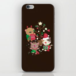 Holiday Crew iPhone Skin