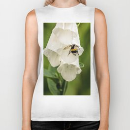 Bumblebee in the campanula Biker Tank