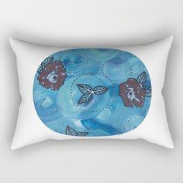 Triptych-3 Rectangular Pillow
