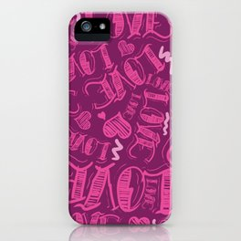 Love a Million Times iPhone Case