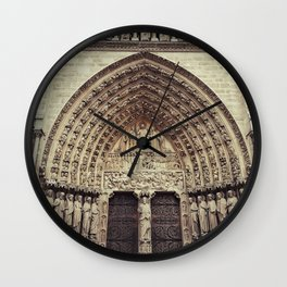 Notre-Dame de Paris Wall Clock