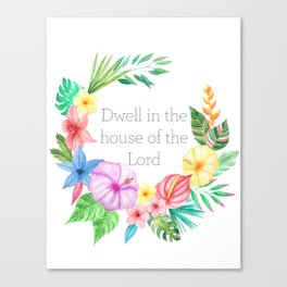 Just Dwell Canvas Print