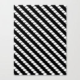 Spinal Stripes Canvas Print