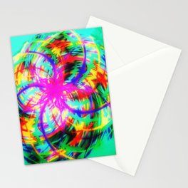 Braid colors - rotation colorful Stationery Cards