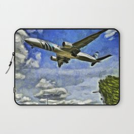 Airliner Vincent Van Gogh Laptop Sleeve