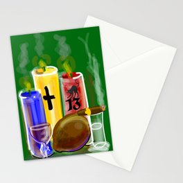 ACHE'    (GRN) Stationery Cards
