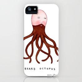 Beard Octopus iPhone Case