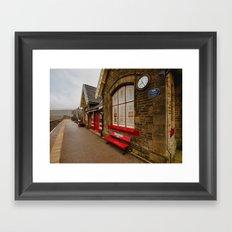 Ribblehead Station Framed Art Print