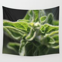 plant Wall Tapestries featuring plant by Yael Tal