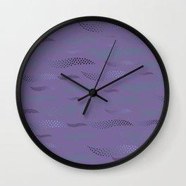 Waves / Tiger (stylized pattern) 33 Wall Clock