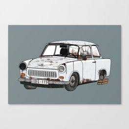 Trabant Canvas Print