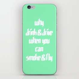 Smoke & Fly iPhone Skin