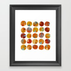 Pies Are Squared Framed Art Print