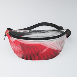 flying abstract digital painting Fanny Pack