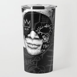 Jean-Michel Basquiat Travel Mug