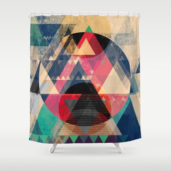 Graphic 102 Shower Curtain